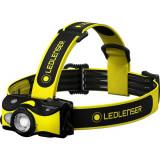 Ledlenser IH9R ipari tölthető LED fejlámpa, 2x14500 Li-ion, 600 lm