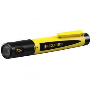 Ledlenser EX4 robbanásbiztos ATEX LED lámpa, CRI70, 0/20 zóna, 2xAAA, 50 lm termék fő termékképe