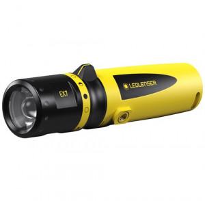 Ledlenser EX7 robbanásbiztos ATEX LED lámpa, CRI65, 0/20 zóna, 3xAA, 200 lm termék fő termékképe
