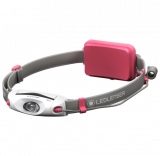 Ledlenser NEO4 Led fejlámpa, pink, 3xAAA, 240 lm