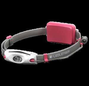 Ledlenser NEO4 Led fejlámpa, pink, 3xAAA, 240 lm termék fő termékképe