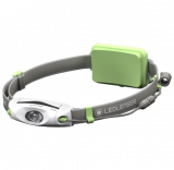 Ledlenser NEO6R tölthető Led fejlámpa, zöld, Li-Polymer, 240 lm