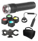 Ledlenser MT10 tölthető LED kézilámpa szett, 1x18650 Li-ion, 1000 lm