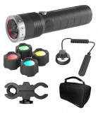 Ledlenser MT14 tölthető taktikai LED lámpa szett, 1x26650 Li-ion, 1000 lm