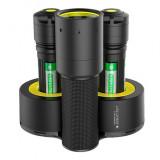 Ledlenser I7DR Industrial tölthető LED lámpa, 4xAAA Ni-Mh, 220 lm