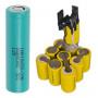 12 V -os Li-ion akkumulátor felújítás, 1.3-2.0 Ah -ig