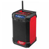 Milwaukee M12 RCDAB+-0 FUEL™ akkus rádió/töltő DAB+ (akku és töltő nélkül)