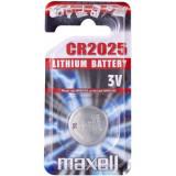Maxell CR2025 3V lítium gombelem, 1db/bliszter