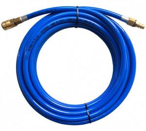 Rectus PUR812200KS PU egyenes tömlő gyorscsatlakozóval, kék, 12x8x2 mm, 20mhosszú termék fő termékképe