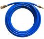 Rectus PUR812200KS PU egyenes tömlő gyorscsatlakozóval, kék, 12x8x2 mm, 20mhosszú