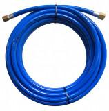Rectus PUR812200R14 PU egyenes tömlő armatúrával, kék, 12x8x2 mm, 20mhosszú