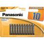 Panasonic LR03APB-10BW ALKALINE POWER alkáli tartós elem, AAA (micro), 10db/bliszter