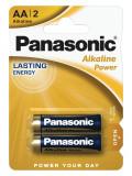 Panasonic LR6APB-2BP ALKALINE POWER alkáli tartós elem, AA (ceruza), 2db/bliszter