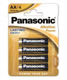 Panasonic LR6APB-4BP ALKALINE POWER alkáli tartós elem, AA (ceruza), 4db/bliszter