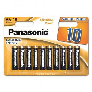 Panasonic LR6APB-10BW ALKALINE POWER alkáli tartós elem, AA (ceruza), 10db/bliszter termék fő termékképe