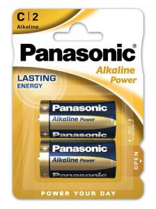 Panasonic LR14APB-2BP ALKALINE POWER alkáli tartós elem, C (baby), 2db/bliszter termék fő termékképe