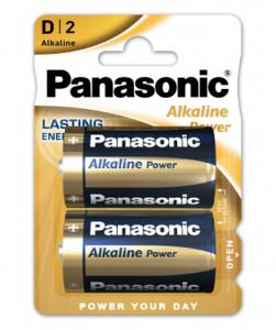 Panasonic LR20APB-2BP ALKALINE POWER alkáli tartós elem, D (góliát), 2db/bliszter termék fő termékképe