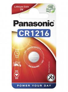 Panasonic CR1216 3V lítium gombelem, 1db/bliszter termék fő termékképe