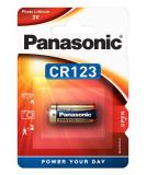 Panasonic CR123 3V lítium fotóelem, 1db/bliszter