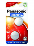 Panasonic CR2016 3V lítium gombelem, 2db/bliszter