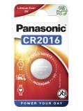 Panasonic CR2016 3V lítium gombelem, 1db/bliszter
