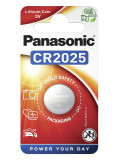 Panasonic CR2025 3V lítium gombelem, 1db/bliszter
