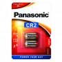 Panasonic CR2 3V lítium fotóelem, 2db/bliszter