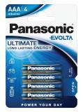 Panasonic LR03EGE-4BP EVOLTA szupertartós alkáli elem, AAA (micro), 4db/bliszter