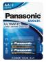 Panasonic LR6EGE-2BP EVOLTA szupertartós alkáli elem, AA (ceruza), 2db/bliszter