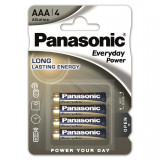 Panasonic LR03EPS-4BP EVERYDAY POWER alkáli tartós elem, AAA (micro), 4 db/bliszter