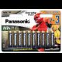 Panasonic LR6EPS/10BW EVERYDAY POWER alkáli elem, AA (ceruza), 10db/bliszter