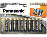 Panasonic LR6EPS-20BW EVERYDAY POWER alkáli tartós elem, AA (ceruza), 20db/bliszter