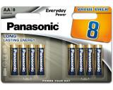 Panasonic LR6EPS-8BW EVERYDAY POWER alkáli tartós elem, AA (ceruza), 8db/bliszter