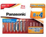 Panasonic LR03PPG/12HH PRO POWER alkáli tartós elem, AAA (micro), 12db/bliszter