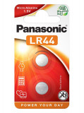 Panasonic LR44EL/2 alkáli gombelem, 2db/bliszter