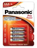 Panasonic LR03PPG-4BP PRO POWER alkáli tartós elem, AAA (micro), 4db/bliszter