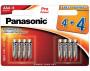 Panasonic LR03PPG-8BW PRO POWER alkáli tartós elem, AAA (micro), 8db/bliszter