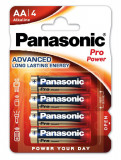 Panasonic LR6PPG-4BP PRO POWER alkáli tartós elem, AA (ceruza), 4db/bliszter
