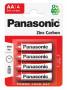 Panasonic R6R-4BP RED ZINC féltartós elem, AA (ceruza), 4db/bliszter
