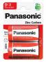 Panasonic R20R-2BP RED ZINC féltartós elem, D (góliát), 2db/bliszter