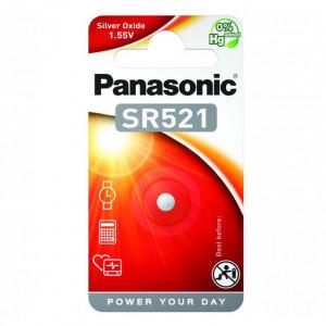 Panasonic SR-521 1.55V ezüst-oxid óraelem, 1db/bliszter termék fő termékképe