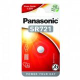 Panasonic SR-721 1.55V ezüst-oxid óraelem, 1db/bliszter