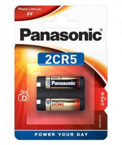 Panasonic 2CR-5L/1BP lítium fotóelem, 1db/bliszter termék fő termékképe