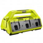 Ryobi RC18627 18 V akkumulátor töltő 6 db akkuhoz