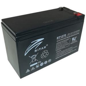 Ritar RT1270ES-F1 ólomakkumulátor 12 V/7 Ah termék fő termékképe