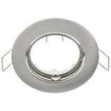 Elmark SA-70 beépíthető spot lámpatest, süllyesztett, selyemfényű nikkel, Ø78 mm