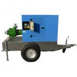 SAN-96/700 K öntözőszivattyú burkolattal (vontatható)