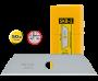 Olfa SKB-2/50 trapéz penge, 17.5 mm, 50db/csomag