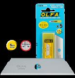 Olfa SKB-2/5B trapéz penge, 17.5 mm, 5db/csomag