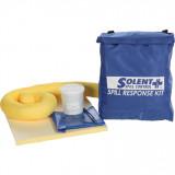 Solent S+ kiömléskezelő készlet vegyi anyagokhoz, 10 l